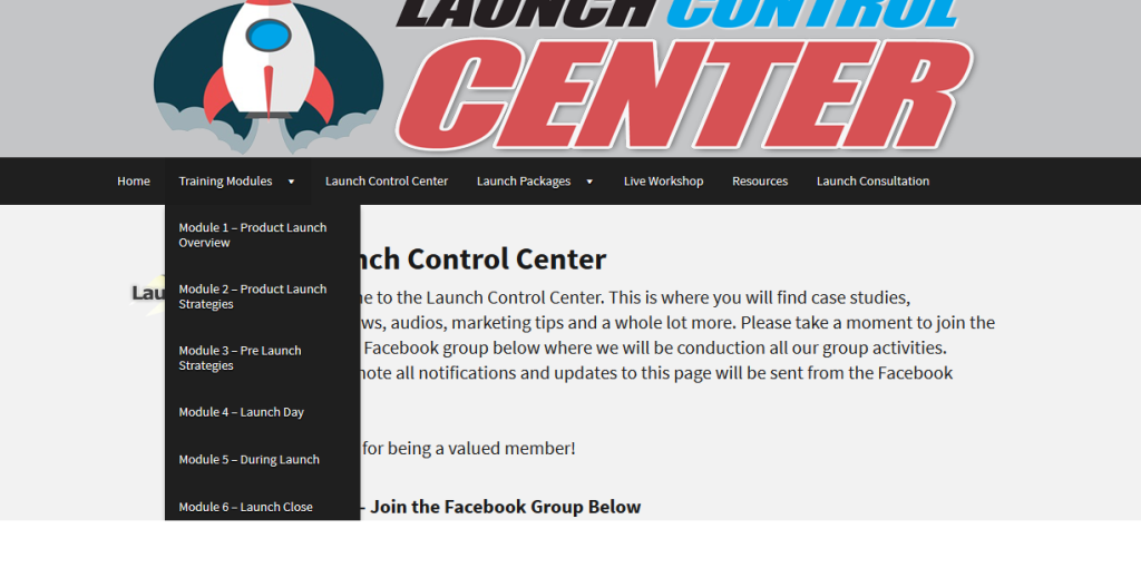 Launch Control Center 1