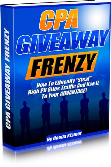 cpa giveaway frenzy warrior forum review