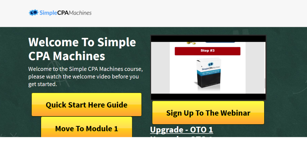 simple cpa machines warrior forum review