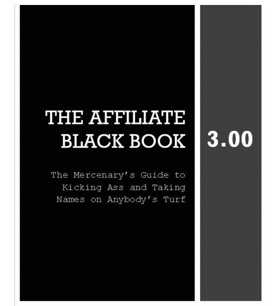 .X. Affiliate Black Book 3.0 Warrior Forum Review