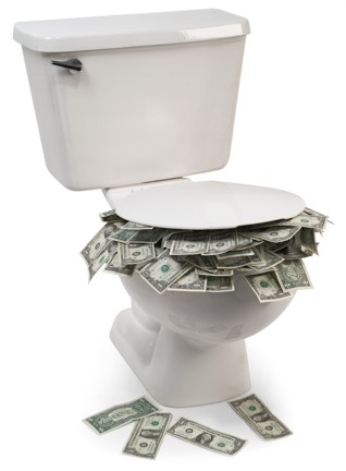 Money-in-the-Toilet